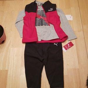 Boys Puma outfit